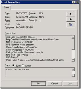 Configuring RADIUS Authentication for WebVPN – Das Blinken